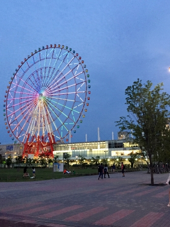 Daikanransha - Odaiba Ferris Wheel (day & evening)